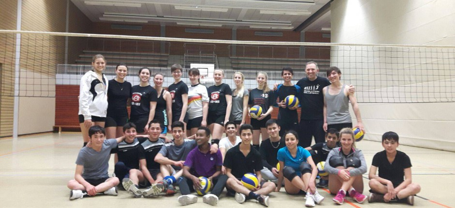 Volleyball meets different cultures